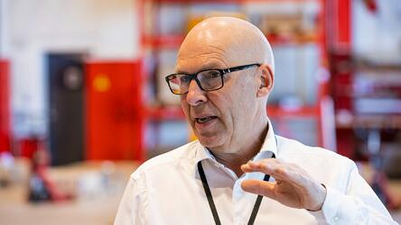 Inge Brigt CEO Aarbakke talking about managing smart factory with ERP Systems