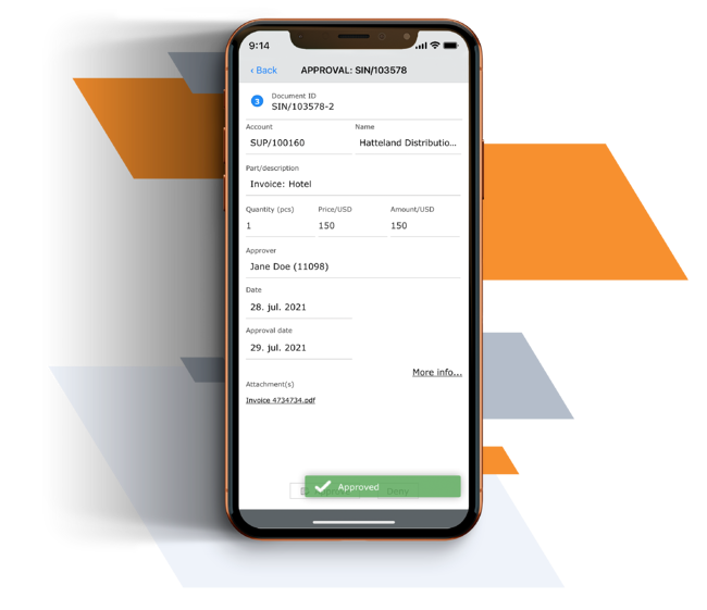 Invoice Approval App