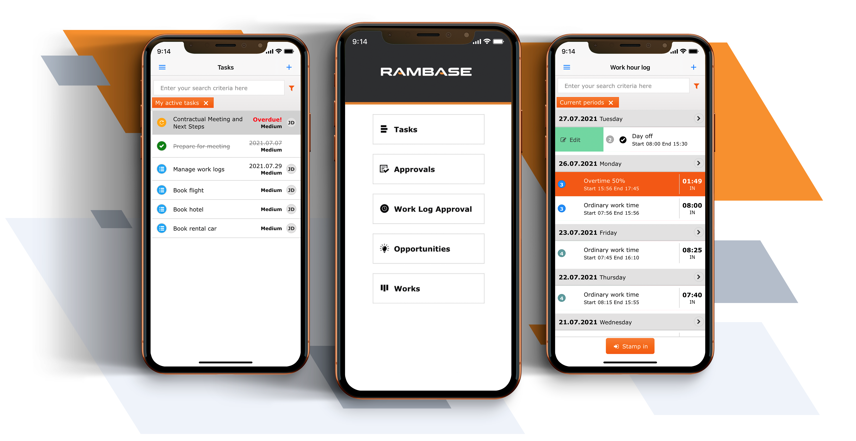 RamBase Apps